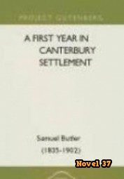A First Year In Canterbury Settlement - Novel37