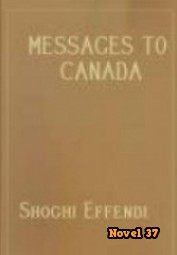 Messages To Canada - Novel37